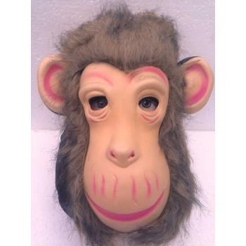 მაიმუნის ნიღაბი ბეწვით